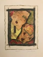 """""""Letters II"""" ~ Signed Mixed Media Limited Edition ~ Marie Candle"""