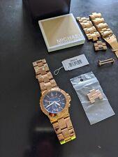 Michael Kors Watch Chronograph - Rose Gold Plated, MK5410 Men's Women's Unisex