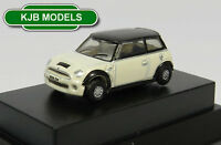 BNIB N GAUGE OXFORD DIECAST 1:148 NNMN002 NEW MINI PEPPER WHITE CAR