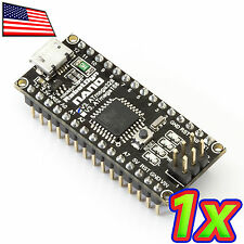 NEW Nano 3.0 Black Edition CH340G Arduino Compatible Microcontroller Atmega328PU