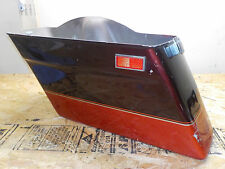 86-92 GENUINE HARLEY DAVIDSON VINTAGE TOURING HARD FIBERGLASS SADDLEBAG