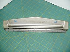 Vintage PAPER PUNCH Master Products Manufacturing Co. Model 33  MADE IN U.S.A.