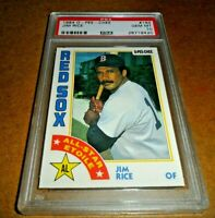 1984 O-PEE-CHEE OPC by Topps #184 JIM RICE BOSTON RED SOX HOF GEM MINT PSA 10