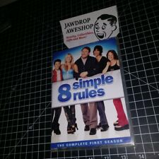 8 SIMPLE RULES FOR DATING MY TEENAGE DAUGHTER SEASON 1 DVDs R1 REGION 1 USA/CAN