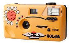 Holga Orange Cat 35mm Nya-Nya Noise Making 35mm Film Camera K-202 (K-205)