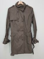[ DAVID LAWRENCE ] Womens Double Breasted Trench Jacket  | Size AU 14