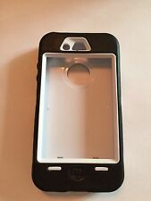 iPhone 4s Hard Shell with Silicone Cover Black & White
