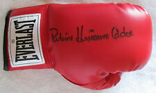 Rubin Hurricane Carter signed Everlast Boxing Glove -  COA
