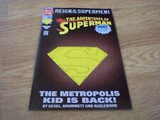 "Adventures of Superman #501 (June 1993) Dc Comics ""Die-Cut Cover"" Vf/Nm"
