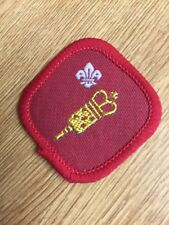 U K Scout Proficiency Service Badge. 1991-2001, Community