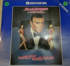 Sean Connery is James Bond in Never Say Never Again Laser Disc Movie