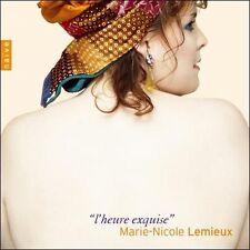 L'Heure Exquise by MARIE-NICOLE LEMIEUX / DANIEL BLUMENTHAL (CD, 2005, Naive)