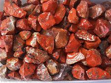 1 LB BRECCIATED JASPER  Rough Rock for Tumbling Tumbler Stones 2200+ CARATS