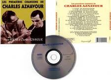 """CHARLES AZNAVOUR """"Les Premières Chansons De"""" (CD) Pierre Roche 1999"""