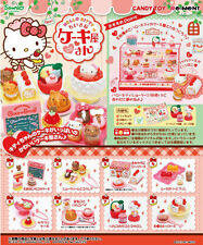 Miniatures Sanrio Hello Kitty Cake Shop Box Set - Re-ment   , #2ok
