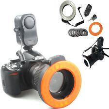 W48 LED Macro Ring Lighting Lamp Light For Nikon D7100 D3100 D5100 D60 D80 W 48