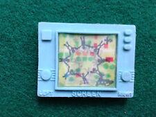 TV LCD SCREEN gomma vintage 80s OLOGRAFICA PRISMATICA - eraser rubber gommina