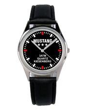 Mustang Oldtimer Geschenk Fan Artikel Zubehör Fanartikel Uhr B-2485