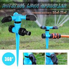 Rotating Impulse Sprinkler Garden Lawn Watering System Water Hose Spray Tool Us