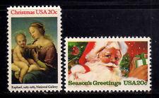 ESTADOS UNIDOS/USA 1983 MNH SC.2063/2064 Christmas