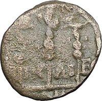 GORDIAN III 238AD Nicaea Bythinia Ancient Roman Coin STANDARDS EAGLE  i48505