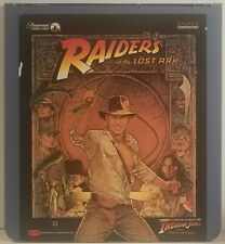 Indiana Jones Raiders of the Lost Ark CED VideoDisc. A