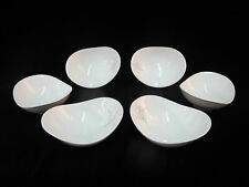 EVA ZEISEL Hall Mid Century Atomic FANTASY 6pc FRUIT Dessert Bowl Set 5 3/4""