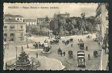 Palermo : Piazza Marina e Giardino Garibaldi - non viaggiata , circa primi '900