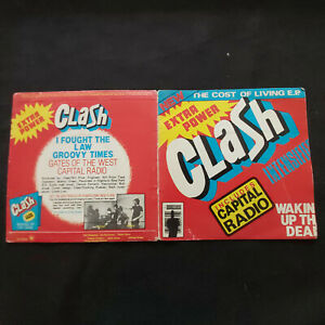 Rare UK EP 1979 CLASH The Cost Of Living E.P.  S CBS 7324 Rock Punk, New Wave