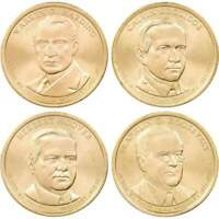 2014-P $1 Presidential Dollar 4-Coin Set Uncirculated Mint State
