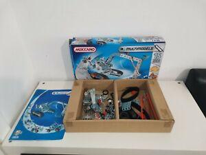 Meccano Multi Model Set 6515 - 252 Pieces - Builds 15 Models Age 8+