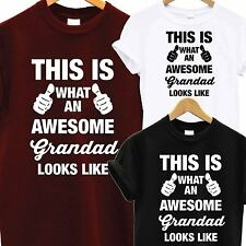 43e5461d8bc AWESOME SUPER GRANDAD T SHIRT FATHERS DAY XMAS CHRISTMAS BIRTHDAY GIFT  PRESENT
