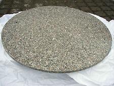 runde Naturstein Tischplatte D60 Gartentischplatte/ Balkontischplatte Granit NEU
