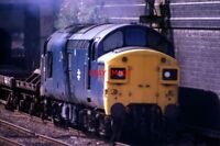PHOTO  CLASS 37 DIESEL 37058 HEADS NORTH AT WALSALL ON 12/09/78.