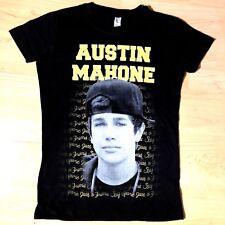 Austin Mahone Say Your Just A Friend Girls Juniors Black Small Fan T Shirt  New