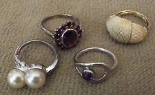 Vintage Rings As-Is Fashion and Silver Rings
