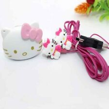 Hello Kitty Mp3 Music Mini Player Hello Kitty Headphone Cable