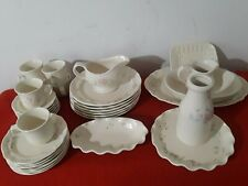 32 piece Pfaltzgraff Tea Rose Dinnerware Set Saucers Plates+serving (N240a)p3