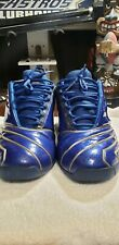 T-Mac Tmac 2 II Blue RARE Basketball shoes mens Adidas 2002 Original Sz 10 Magic