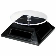 Solar Spinner: Energie Solaire Rotary Display Stand for Metal Earth Modèles etc