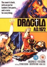 HAMMER HORROR DVD – DRACULA AD 1972 – CHRISTOPHER LEE & PETER CUSHING