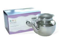 Neti Pot (stainless Steel 400ml) for Nasal Irrigation Sinus Congestion Relief