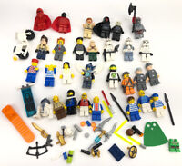 Mixed Lego Star Wars 10188 & City People Harry poster Mini Fig Figure Lot of 29
