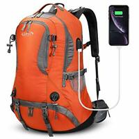 50L Rucksack Hiking Backpack Mountaineering Bag Waterproof Travel Camping