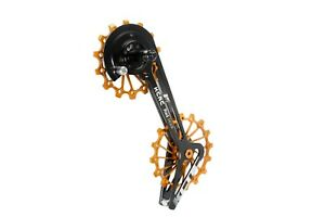 KCNC Road Bicycle Bike Oversize Pulley System Cage for Sram Red/Force/Rival Gold