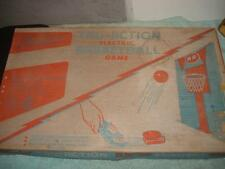 VINTAGE TUDOR TRU-ACTION ELECTRIC BASKETBALL METAL GAME BOARD 1950s