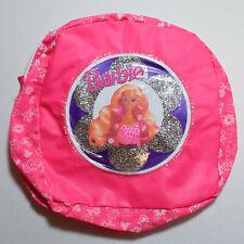 Vintage Rare Mattel Barbie Pink Mini Backpack with Adjusting Straps