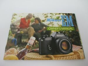 Nikon EM Owner's Manual