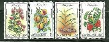 ST VINCENT 829-32 MNH HERBS AND SPICES