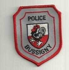 SCHWEIZ  STADT- Polizei  BUSSIGNY Police Abzeichen VAUD  Patch Aufnäher Polizia
